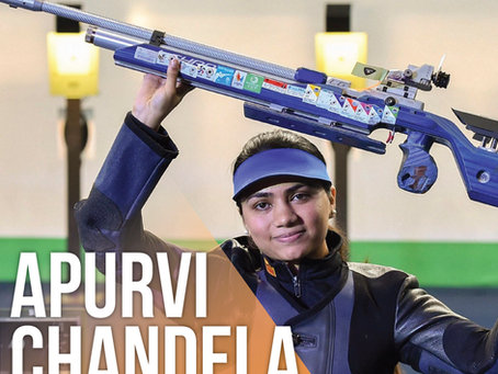 Apurvi Chandela: World's No. 1 10m Air Rifle Shooter