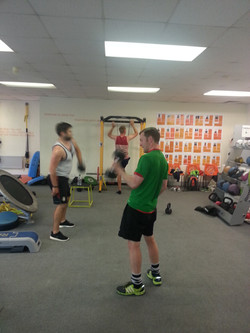 Group gym sessions