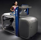 An AltreG treadmill is available for clients to use at The Gym Cheltenham