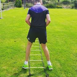 Junior athlete training