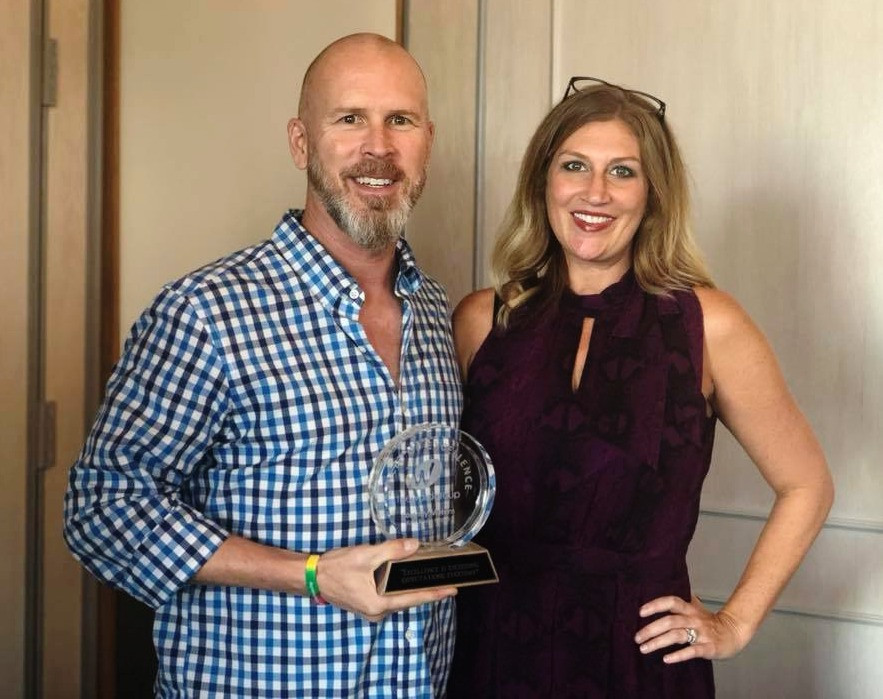 Cortney circle of excellence winner 2018 the ward group top dallas texas advertsing marketing services media agency