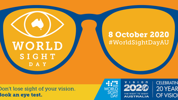 World Sight Day - Oct 8th