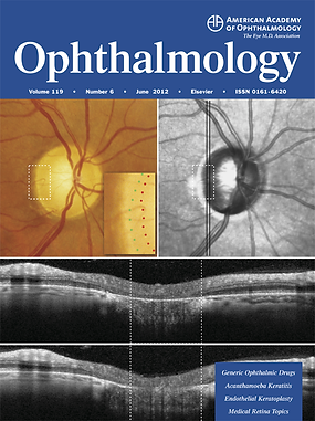 Ophthalmology journal cover