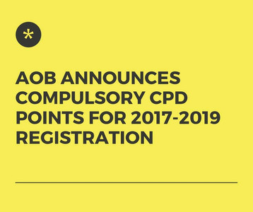 AOB Introduces Compulsory CPD