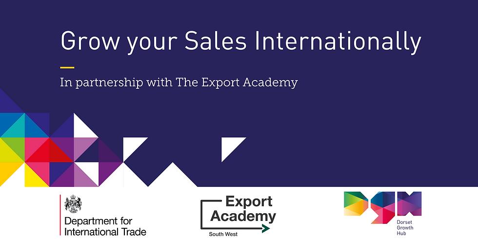 Grow your Sales Internationally