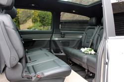 Arrive in Style Cars Mercedes MPV interi