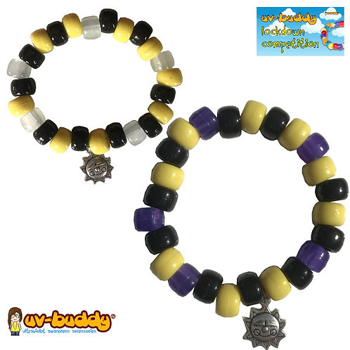Bumble Beads UV Reactive Bracelet