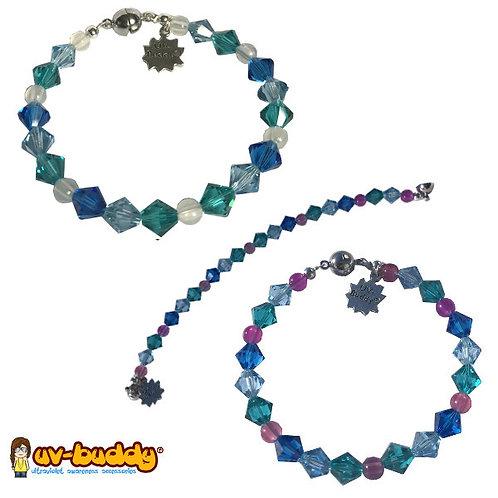 Elegant Blueberry Pie Bracelet