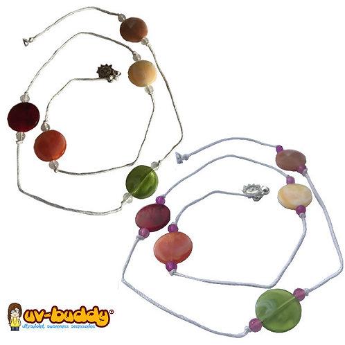 UV Reactive Tutti Fruiti Necklace
