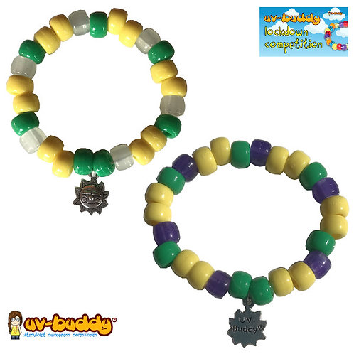 Daisy Chain UV Reactive Bracelet