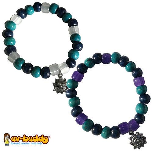 eco-friendly Blueberry Pie UV Bracelet