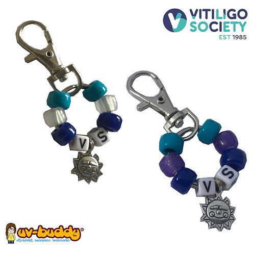 Approved Vitiligo Society UV Bag Charm