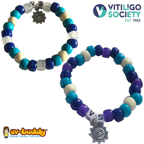 Approved Vitiligo Society UV Bracelet