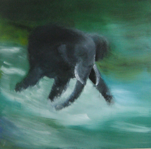 Untitled,Acrylic on Canvas,2011,100cmx10