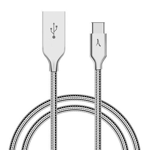Câble USB vers USB Type-C - Métal Incassable - 1 Mètre