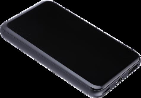 Batterie de Secours Ultra Slim Charge Rapide - 5000 mAh - Noir