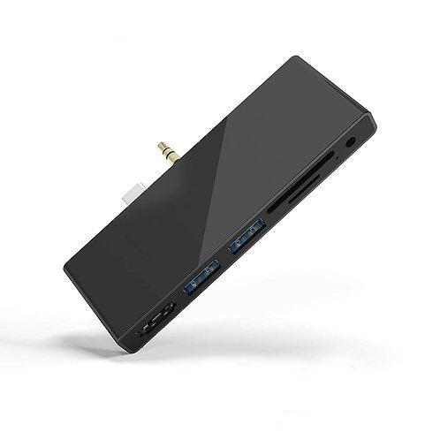 Hub pour Microsoft Surface Go - 2 Ports USB 3.0  + HDMI HD 4K + Lecteur SD