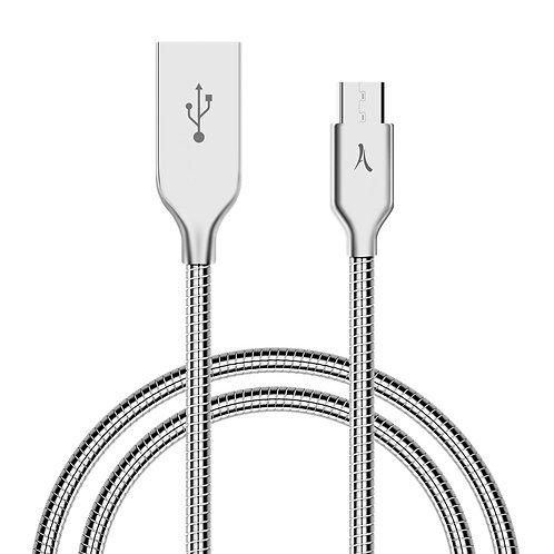 Câble USB vers Micro USB - Métal Incassable - 1 Mètre