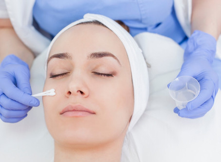 Chemical Peels, choosing ingredients and the benefits for a healthier skin