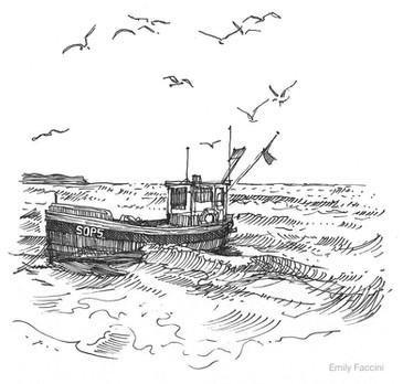 """For Patrick Barkham's """"Coastlines"""" - Granta"""