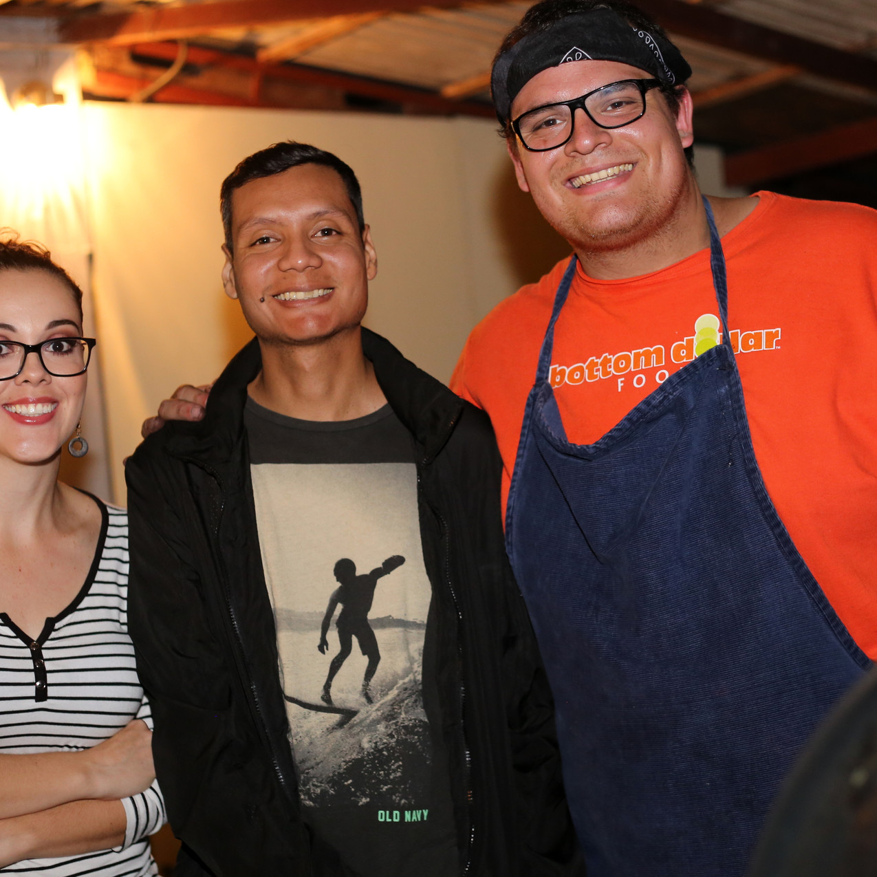 Mariela, Andres, and Sebastian