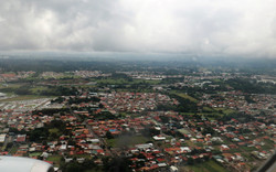 landing in rainy season