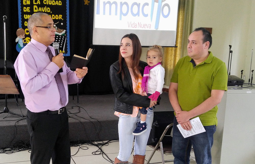 Pastor Max (baby dedication)