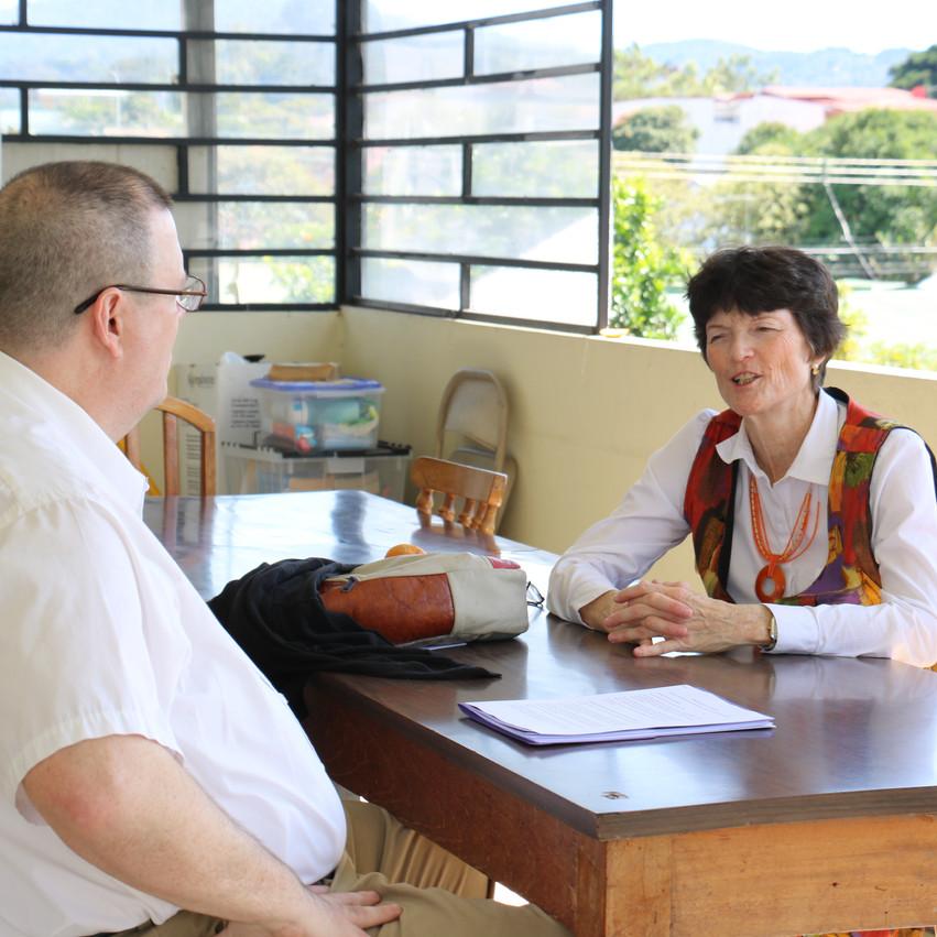 Meeting with Julie Chamberlain