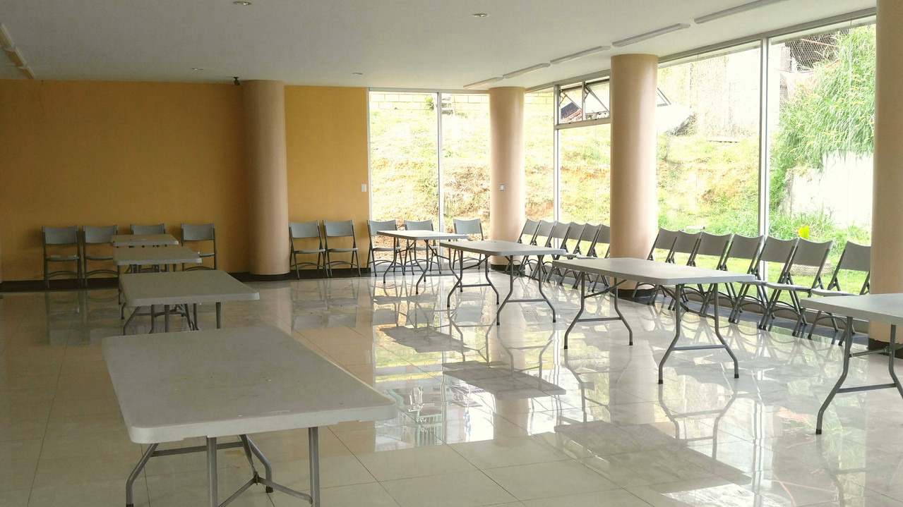 Dining hall for center residents