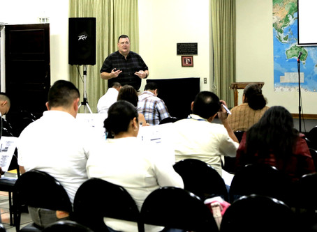 Ministry Moment: Chaplaincy Training this Weekend--please pray with us.