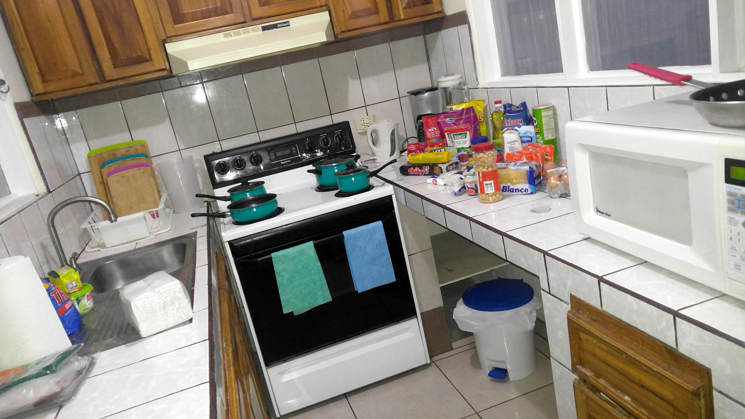 Our kitchen of welcome