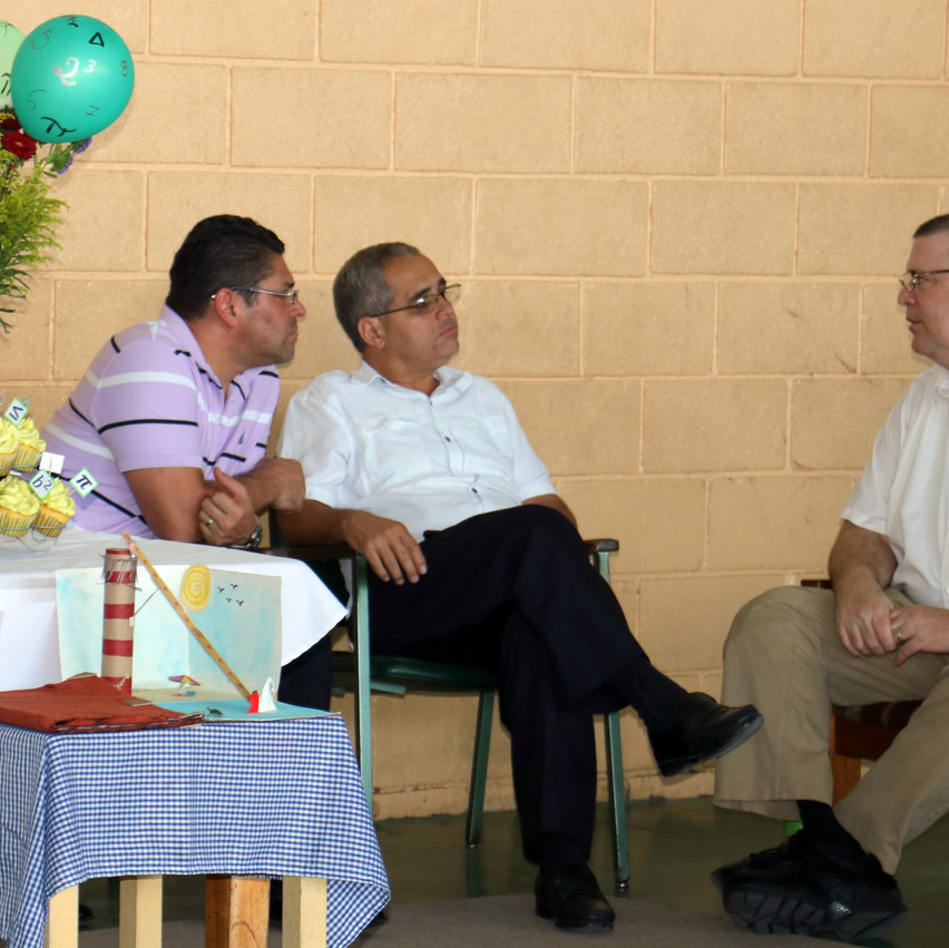 Meeting with board members