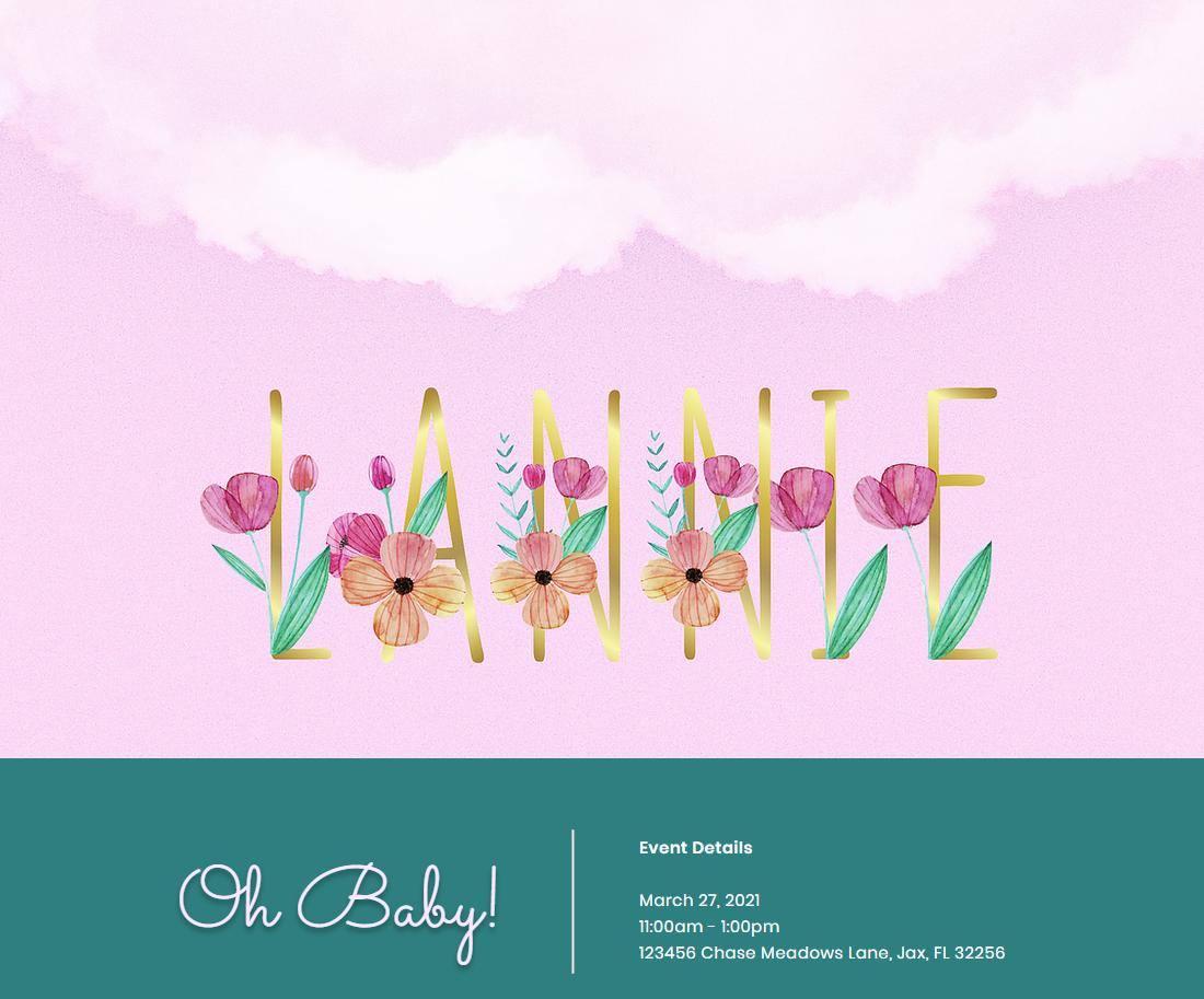 Baby Shower Registry Site