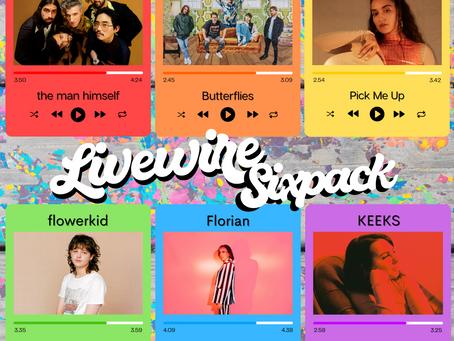 LivewireAU's Six Pack: Stunning Tracks Celebrating Unique Soundscapes
