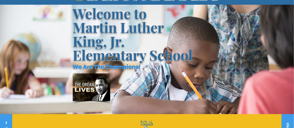 Martin Luther King Website is now live!