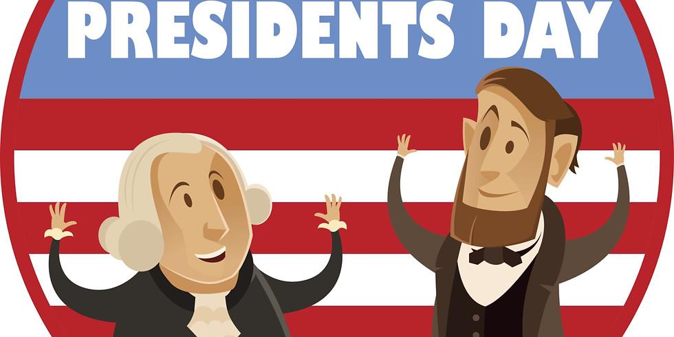 Presidents' Day (No School)