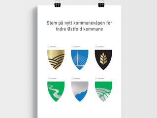 Et av disse blir kommunevåpen for Indre Østfold kommune – hvilket synes du er finest?