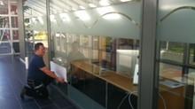 Stort folieringsprosjekt til nye lokaler i Askim Næringspark!