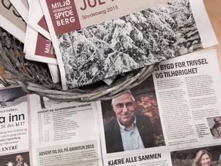 Fersk avis rett fra trykken!