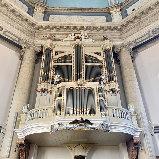 Het historische orgel