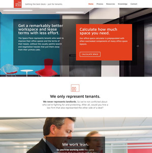 The Space Place Professional Services Website
