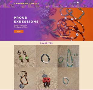 Jo's Garden of Jewels Website