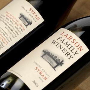 Larson Family Winery Rebranding