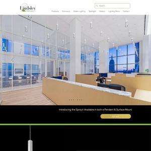 Lindsley Lighting E-commerce Site