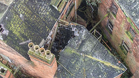 Drone Building damage assessment Bristol
