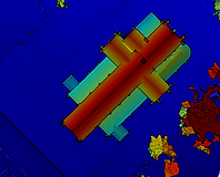 Drone elevation map Manchester