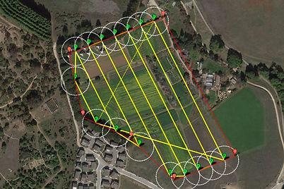 UAV survey drone mapping