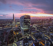Drone filming London