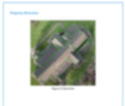 UAV roof report