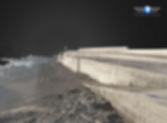 Sea defence drone mapping